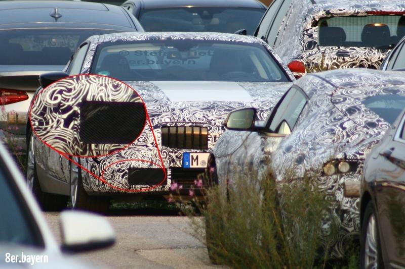 Erlkönig BMW 8er (G15)